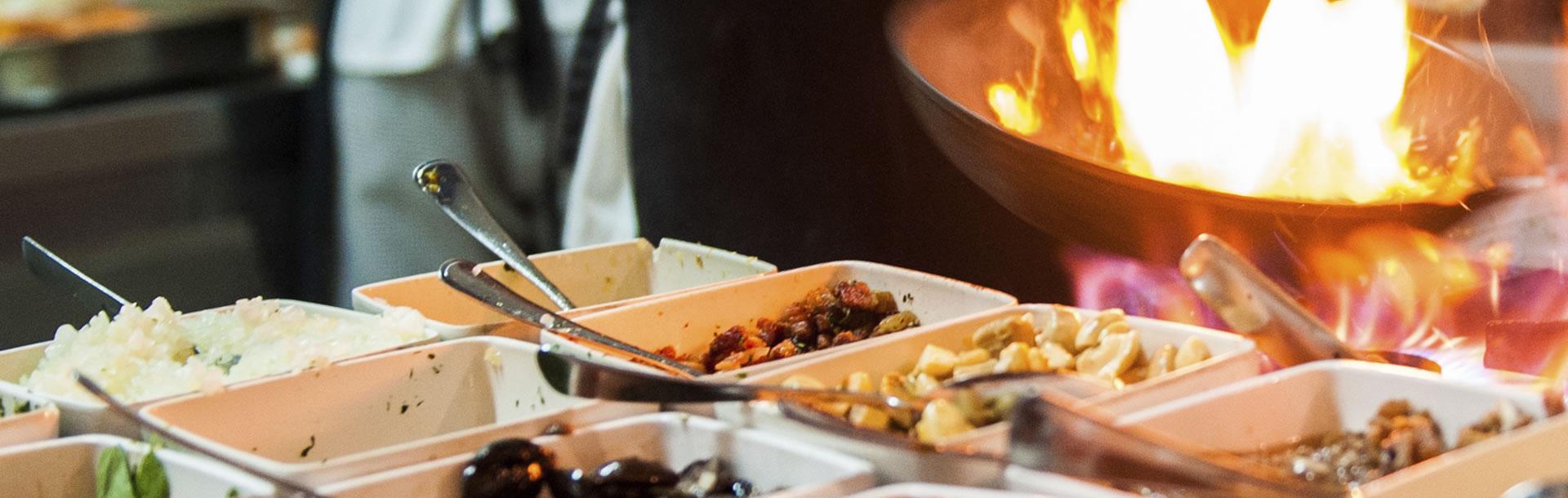 Live Cooking für Hochzeiten & Firmenevents - Alexander\'s Catering